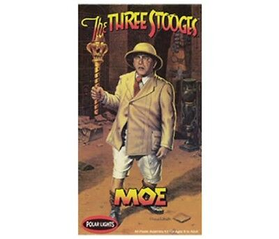 The Three Stooges - MOE plastic model kit #POL840