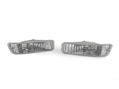 DEPO Front Clear Bumper Signal Lights for 92-93 Acura Integra RS / GS / LS / GSR