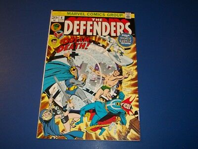 Defenders #6 Bronze age VF- Beauty Black Knight