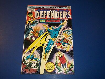 Defenders #28 Bronze age 1st Starhawk Key Guardians of the Galaxy