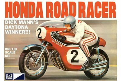 Dick Mann Honda 750 Road Racer Motorcycle 1/8 scale skill 3 MPC model kit#856