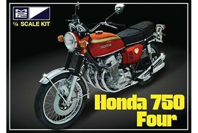 Honda 750 Four Motorcycle 1/8 scale skill 3 MPC model kit#827