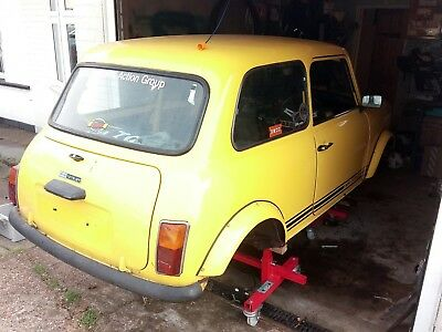 1975 Classic Mini 1275Gt Fully Deseamed Shell Former Miniworld Feature Car V5C