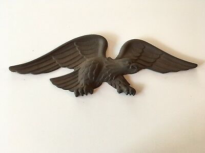 Cast Metal Eagle ~ Last Heat Poure in Caloric Foundry ~ March 1968 ~ 13""