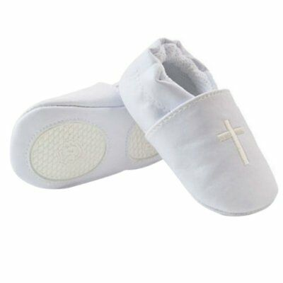 US Toddler Kids Baby Boy Girl Cross Baptism Shoes Christening Church Soft Shoes