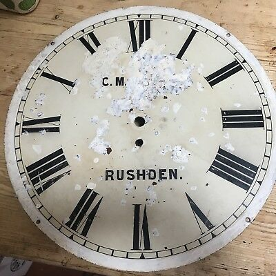 Rushden Clock Face Northants Vintage Original Rare