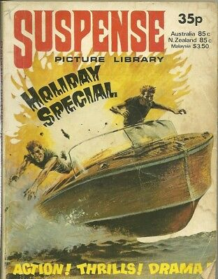 Suspense Holiday Special 1979 Action Picture Library Top Secret Service Three
