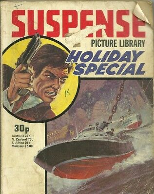Suspense Holiday Special 1977 Action Picture Library Top Secret Service Three