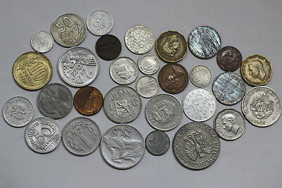 World Coins Lot With Many Old Coins A85 Rr4