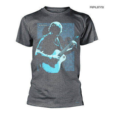 Official T Shirt Divide ED SHEERAN Vintage Photo 'Chords' Grey All Sizes