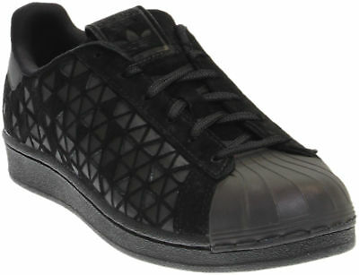 adidas Superstar Youth Sneakers- Black- Boys