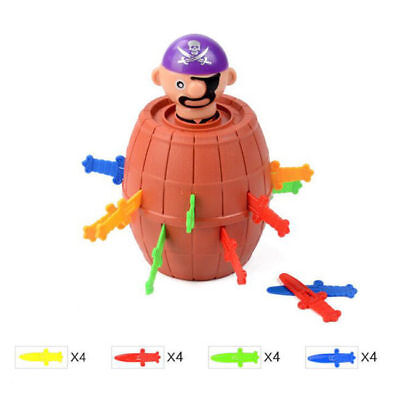 Super Pop Up Toy Jumping Pirate Board Game Lucky Funny Tricky Kids Xmas Gift #1
