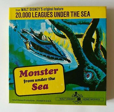 MONSTER FROM UNDER THE SEA 8 minutes - COLOUR SOUND  - £4 00