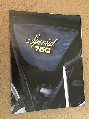 "1978 Yamaha ""Special 750"" Motorcycle Dealer Sales Brochure"