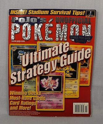 Pojo's Pokemon News & Price Guide Monthly Magazine  June 2000 Pull-out Posters