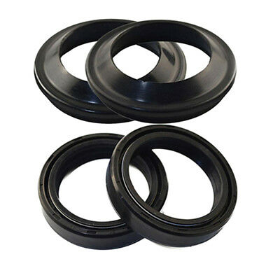 Front Fork Oil Seal Set 41x54x11mm & Motorcycle 41x54mm Dust Seals
