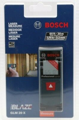 NEW SEALED BOSCH GLM 20X 65ft LASER MEASURE