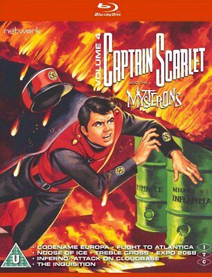 Gerry Anderson's Captain Scarlet Vol 4 BluRay - BRAND NEW shrink-wrapped