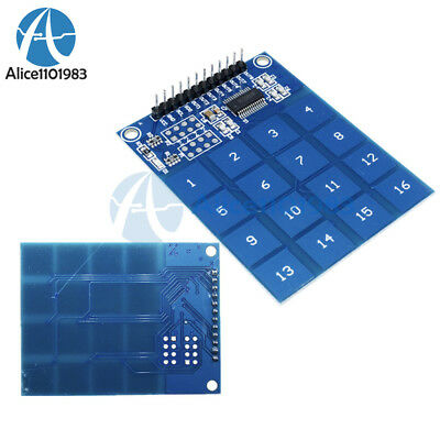5PCS TTP229 16-Channel Digital Capacitive Switch Touch Sensor Module for Arduino