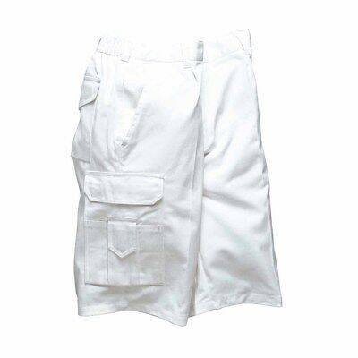 Portwest - Durable Workwear Absorbent 100% Cotton Painters Cargo Shorts