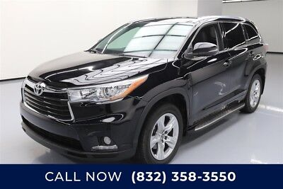 Toyota Highlander Limited Texas Direct Auto 2016 Limited Used 3.5L V6 24V Automatic FWD SUV Premium