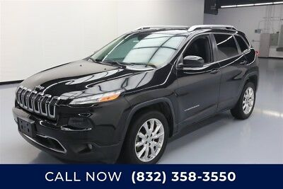 Jeep Cherokee Limited Texas Direct Auto 2014 Limited Used 3.2L V6 24V Automatic FWD SUV Premium