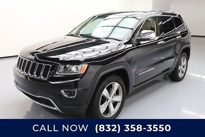Jeep Grand Cherokee Limited Texas Direct Auto 2014 Limited Used 3.6L V6 24V Automatic RWD SUV Premium