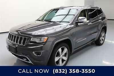 Jeep Grand Cherokee Overland Texas Direct Auto 2015 Overland Used 3.6L V6 24V Automatic RWD SUV Moonroof