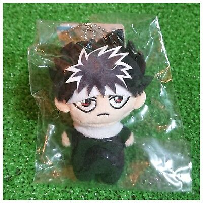Event Only!! Jump 50th Exhibition Yu Yu Hakusho Plush Mascot Keychain / Hiei