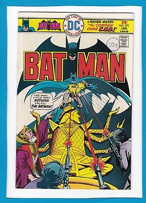 "Batman #271_January 1976_Very Fine_""nothing Can Kill The Batman""_Bronze Age Dc!"