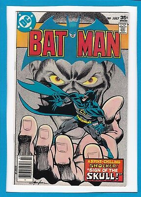 "Batman #289_July 1977_Very Fine_""sign Of The Skull""_Bronze Age Dc!"