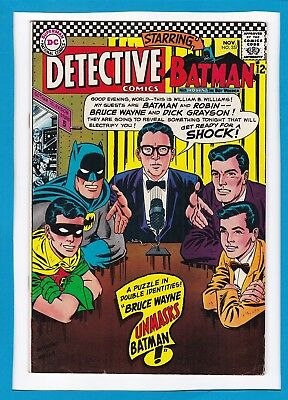 "Detective Comics #357_November 1966_Vf Minus_""bruce Wayne Unmasks Batman""!"