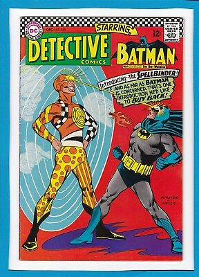 "Detective Comics #358_Dec 1966_Very Fine_Batman_""introducing...the Spellbinder""!"