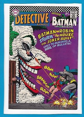 Detective Comics #365_July 1967_Very Fine+_Batman_Robin_Joker_Silver Age Dc!