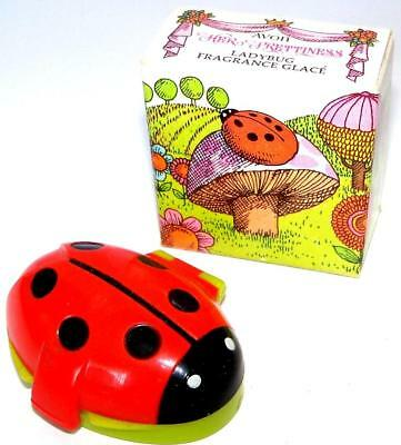 Avon Girls Novelty Accessories HER PRETTINESS Lady Bug Fragrance Glace NOS NIB