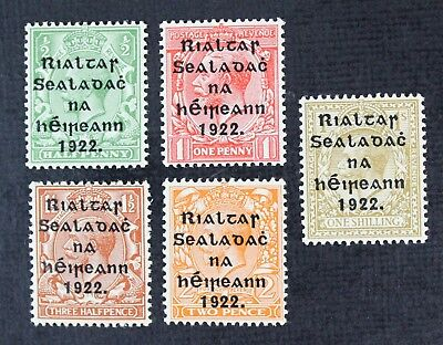 CKStamps: Ireland Stamps Collection Scott#39-43 Mint 3NH OG, #42 #43 H
