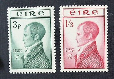 CKStamps: Ireland Stamps Collection Scott#149 150 Mint H OG