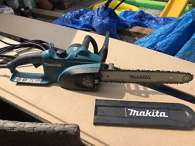 Makita UC3520A Electric Chainsaw 240v 1800w 8m Cable