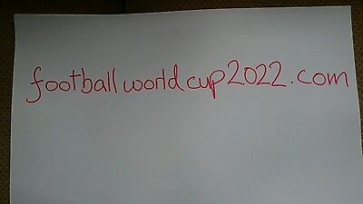 Website domain for sale www.footballworldcup2022.com