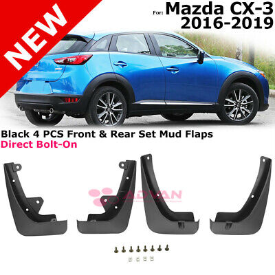 Set of 4 Front and Rear Mud Flaps Splash Guards for Cadillac XT5 2016-2017