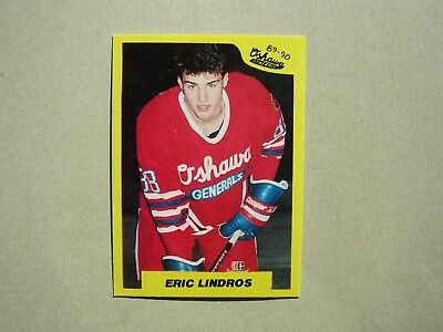 1990/91 7Th Inning Stretch Nhl Hockey Card #440 Eric Lindros Rookie Nm+ Sharp!!
