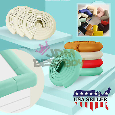 L Shape Baby Safety Table desk Cushion Edge Corner Guard Strip Bumper Protector