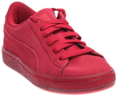Puma Suede Classic Ice Mix Running Shoes- Red- Boys