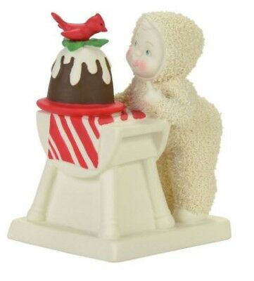 Department 56 Snowbabies Tasting the Pudding Porcelain Figurine 4057889 New