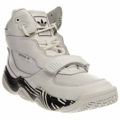 adidas FYW Reign Basketball Shoes- White- Mens