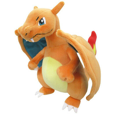"Sanei Pokemon Sun Moon All Star Collection PP95 Charizard 8"" Stuffed Plush Doll"