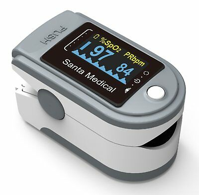 Santamedical Generation 2 SM-165 Fingertip Pulse Oximeter Oximetry Blood Oxyg...