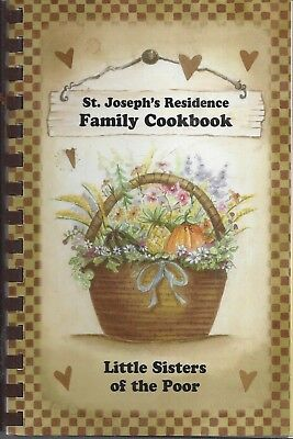 Enfield Ct 2008 St Joseph's Residence Ethnic Cookbook Little Sisters Of The Poor