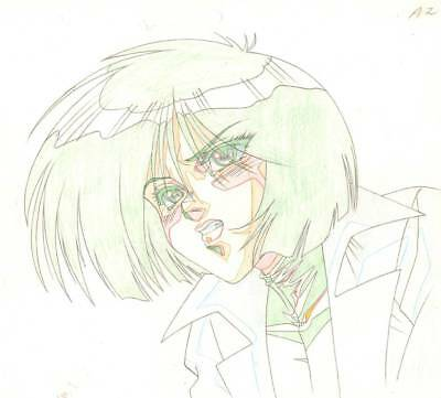 Anime Genga not Cel Battle Angel / Gunnm (handdrawn by YUTAKA MINOWA) #7