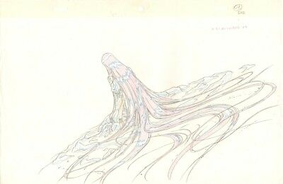 Anime Genga not Cel Vampire Hunter D 2 pages #1503